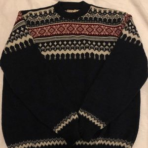 L.L Bean Knitted Winter Sweater